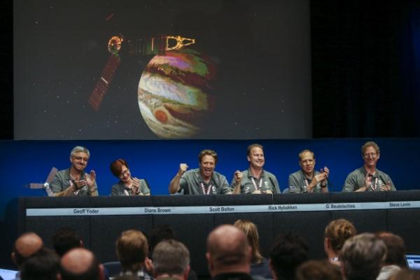 Hello Jupiter! NASA spacecraft arrives at giant planet