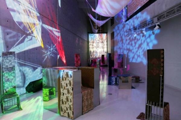 Batik reinterpreted with digital technology