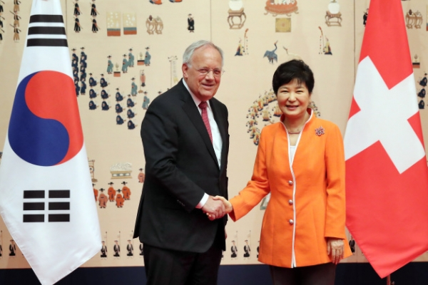 S. Korea, Switzerland agree to expand cooperation on health