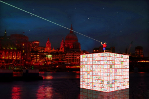 Multimedia artist Kang Ik-joong to light up London's River Thames with 'Floating Dreams'