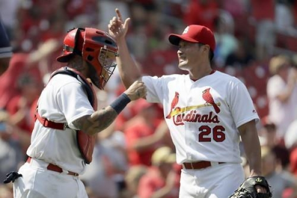Cardinals' Oh Seung-hwan earns 3rd save of season