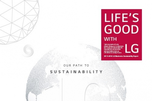 LG Electronics, Display release sustainability reports
