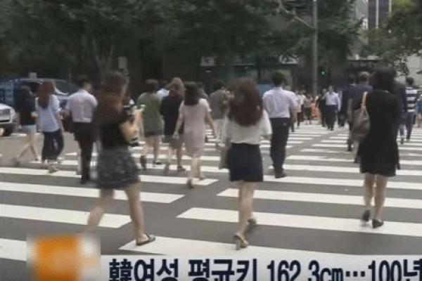 Korean women 20 cm taller than century ago