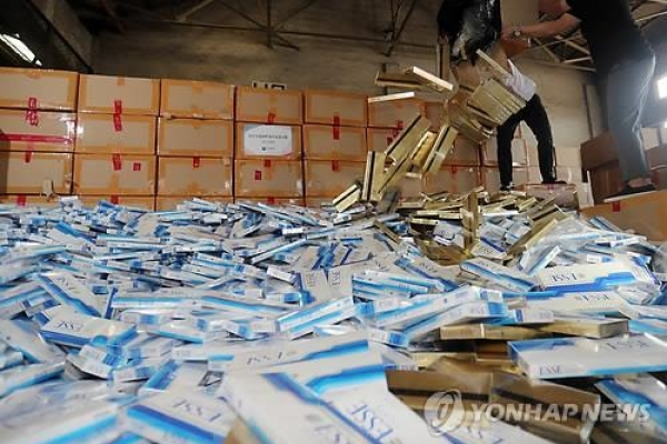 Customs agency nails 7 cigarette smugglers