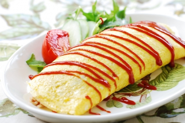 [Home Cooking] Omurice