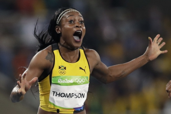 A new Jamaican champion makes her mark in Olympic 100 meters
