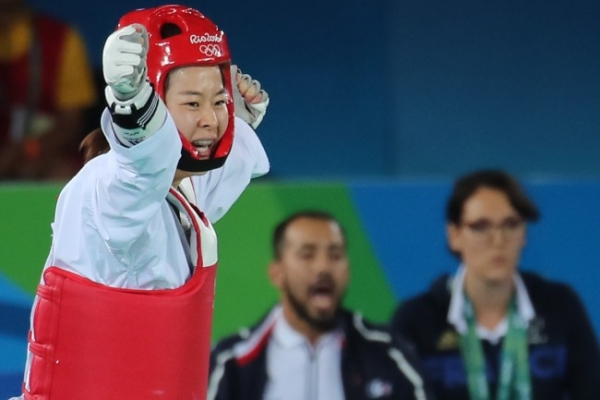 South Korean Oh Hye-ri wins taekwondo gold