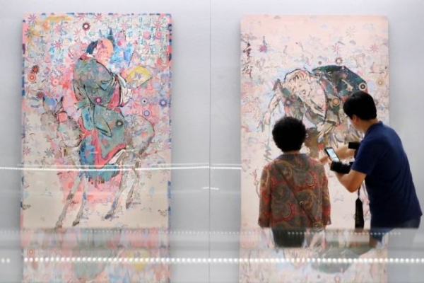 Modern meets traditional in Gansong exhibition
