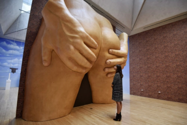 Bums and cash set tongues wagging at UK's Turner Prize