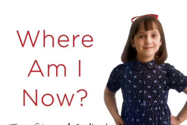 Mara Wilson is not Matilda anymore
