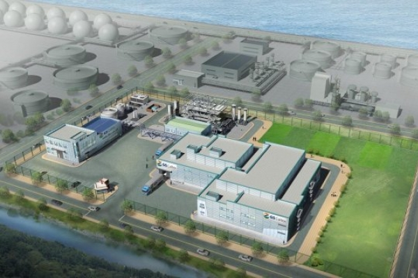 GS Caltex breaks ground for world's first biobutanol plant