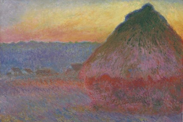 Celebrated Monet 'haystack' painting to be auctioned in NY