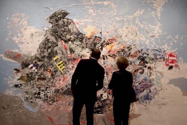 Hockney, de Kooning highlight NY contemporary art auction