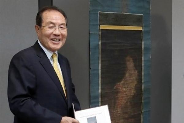 [Super Rich] K-beauty tycoon donates W2.5b Buddhist Painting