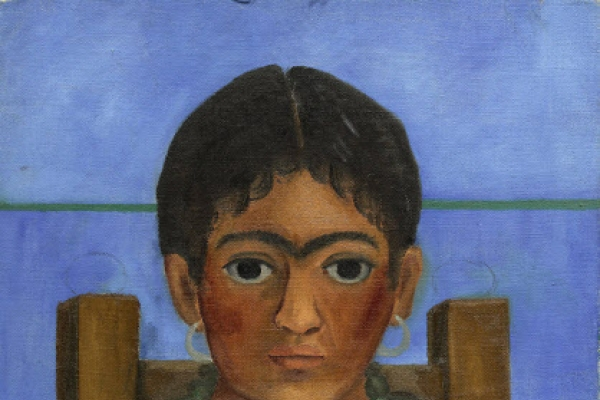 Rediscovered Kahlo painting going to auction in NY