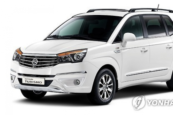 Ssangyong Motor to recall 5,200 cars sold in Korea
