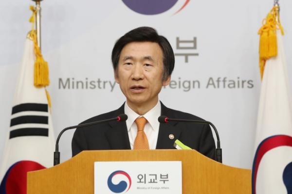 Seoul, Washington, Tokyo to synchronize standalone sanctions on NK: foreign minister