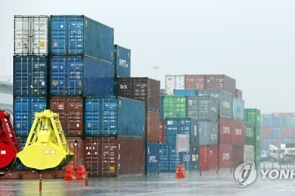 Korea's exports rebound to rise 2.7% in Nov.