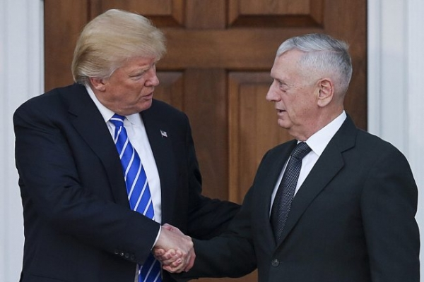 [Newsmaker] Trump picks retired Gen. Mattis for defense secretary: reports