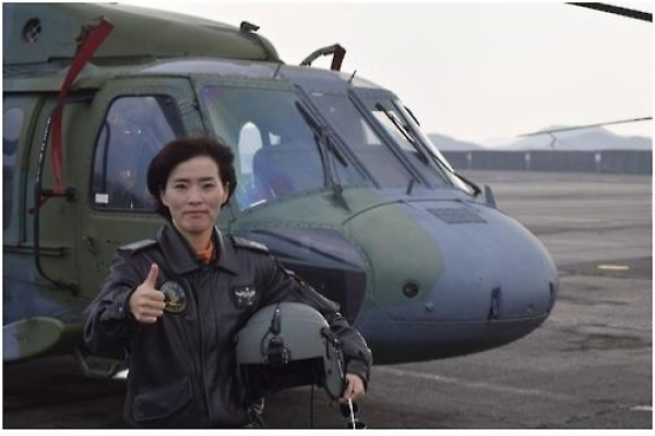 Army appoints first female helicopter pilot instructor