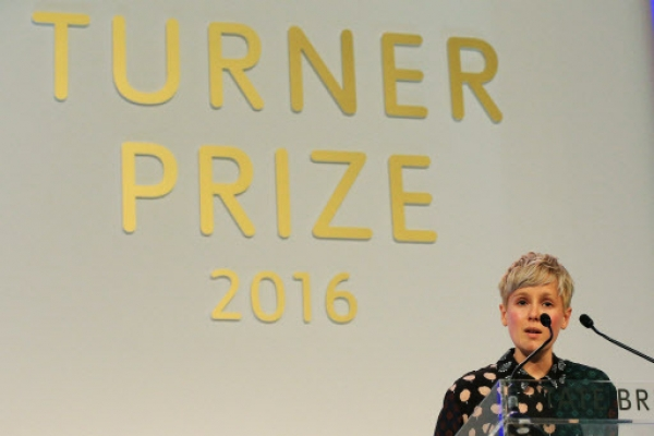 Fish skin, snooker chalk win UK Turner Prize for Marten