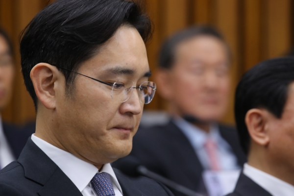 Lee Jae-yong put at center in largest hearing on chaebol