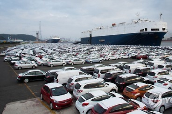 Korea's auto exports turn around in Nov. after 17-month lapse