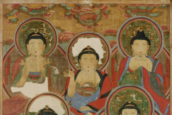 18th-century Buddhist painting returned to home soil