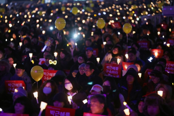 Koreans hold massive anti-Park rally for 8th weekend