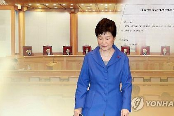 Park remains low-key on fourth anniversary of election victory