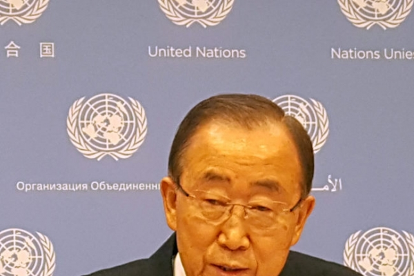 UN chief Ban shows strongest indication of his presidential ambition