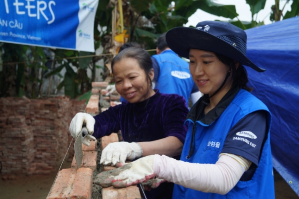 [ADVERTORIAL] Samsung C&T carries out global CSR