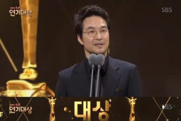 Han Suk-kyu nabs top actor award