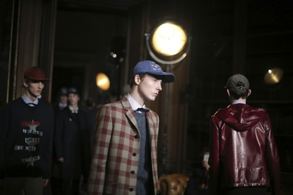 Classical fuses with punk to kick off Paris menswear shows