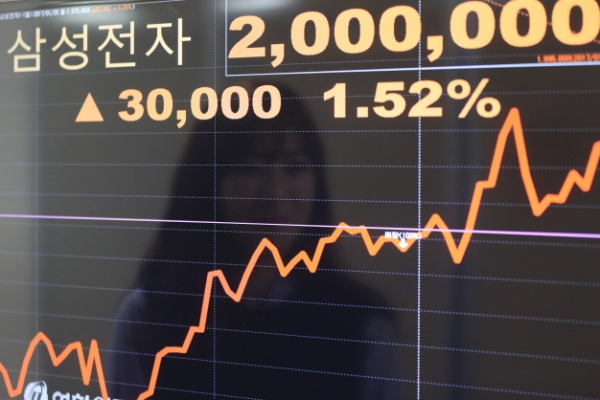 Korean stocks up on Samsung's rally