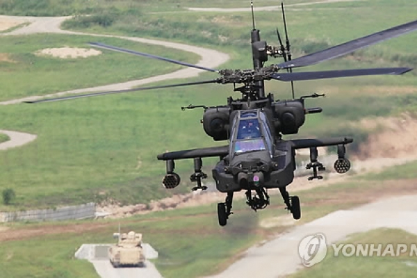 Korea completes deployment of 36 upgraded Apache choppers