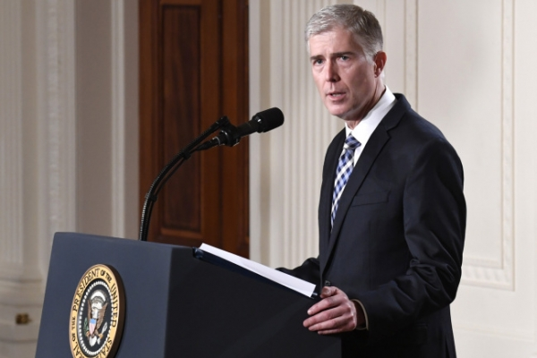 [Newsmaker] Court nominee Gorsuch praised by some liberals