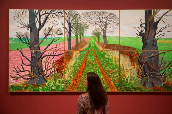 Vibrant Tate show traces of David Hockney's artistic journey
