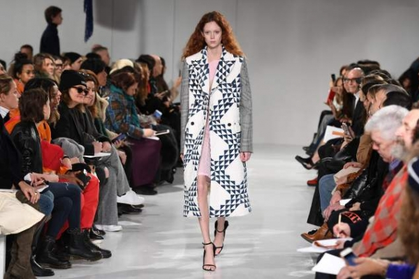 Calvin Klein show delivers political message at Fashion Week