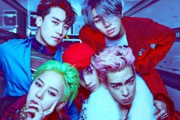 BigBang's new album tops Japanese music chart