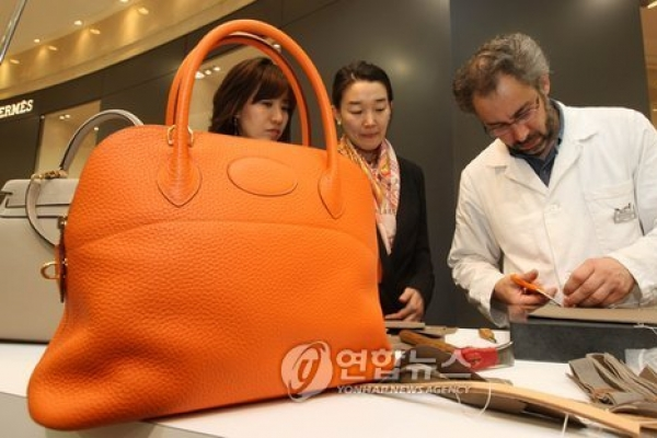 Hermes bags are talk of town amid nation-rocking scandal