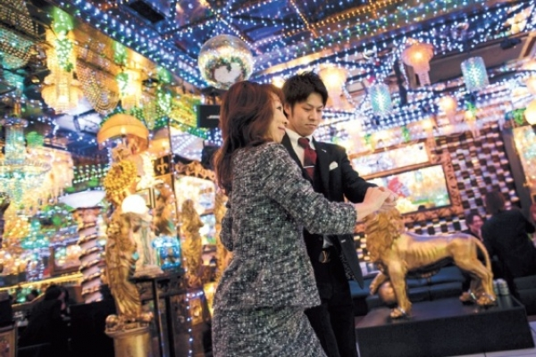 Japan's male hosts sell dreams to lonely women