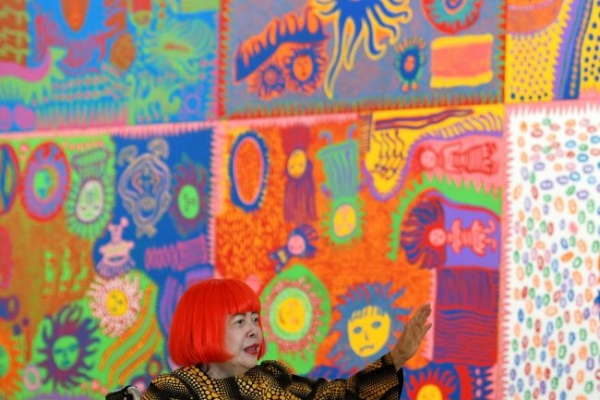 From Tokyo to USA: Kusama's eternal love of polka dots