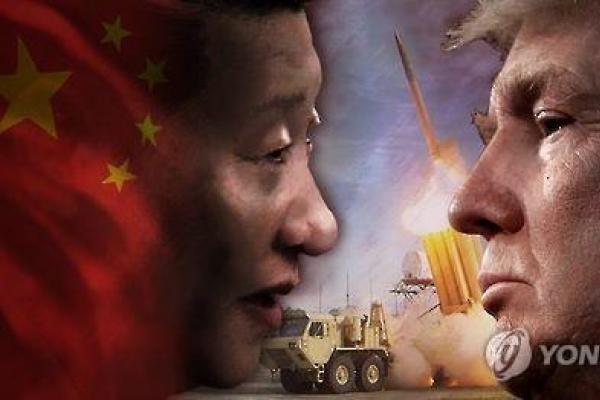 N. Korea, THAAD key topics for Trump's summit with Xi: White House