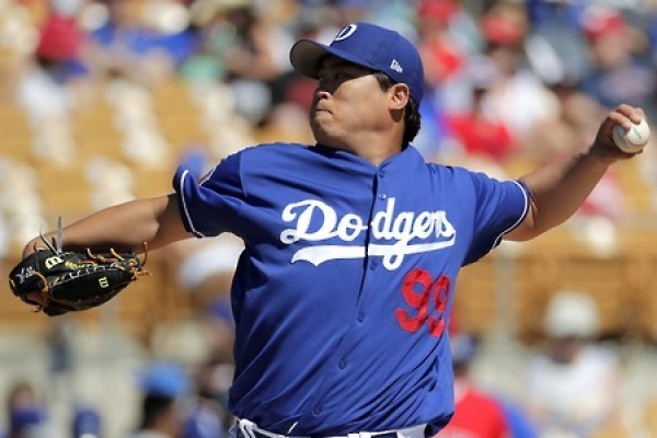 With solid spring outing, Dodgers' Ryu Hyun-jin on course for rotation return