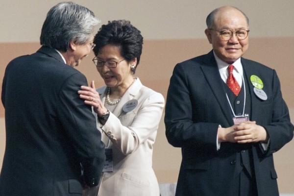 [Newsmaker] China's favorite Lam wins Hong Kong leadership