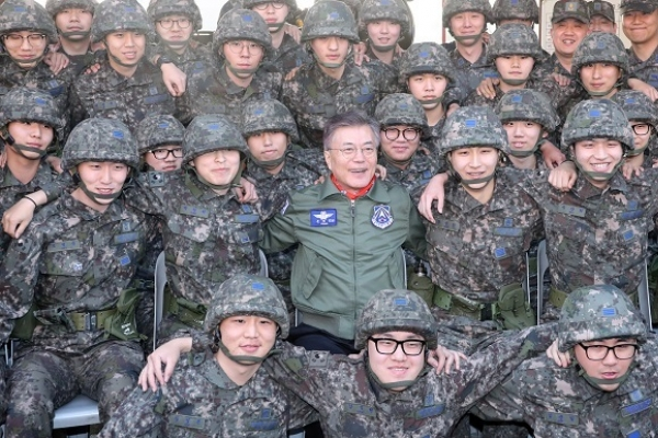 Moon struggles to prove allegiance to South, not North