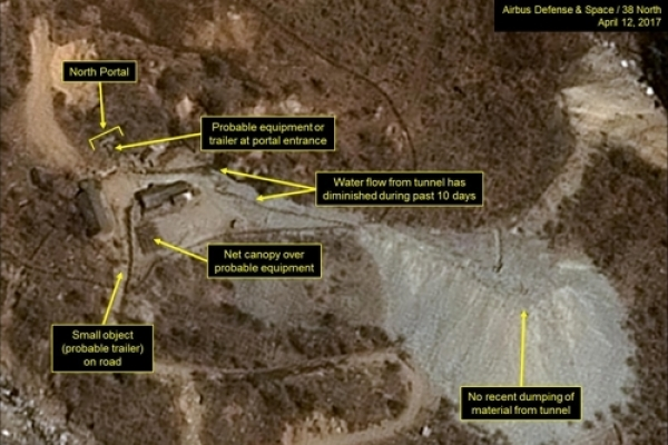 N. Korea continues activity at its nuke test site: satellite photo