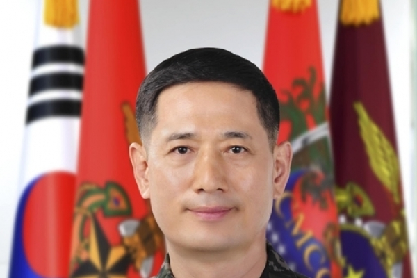 Korea's new Marine Corps chief stresses combat spirit