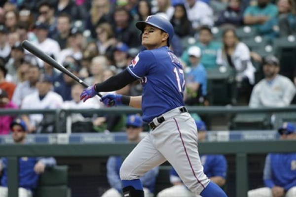 Rangers' Choo Shin-soo hits 1st home run of '17